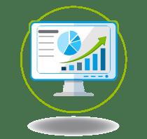Te damos acceso a un módulo de informes que puedes revisar en línea, y así, realizar la conciliación de tus pagos.